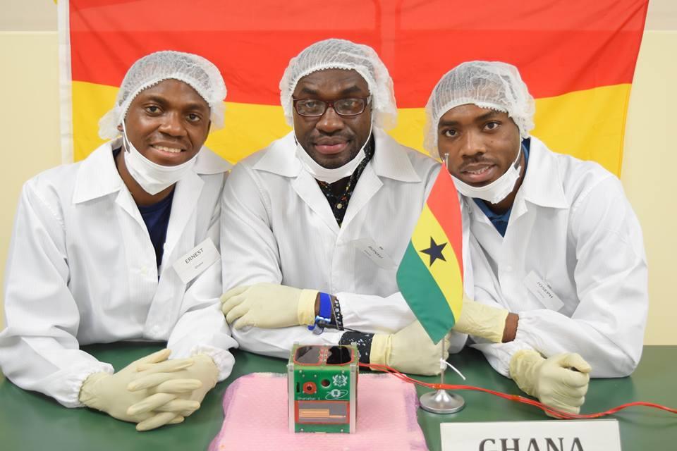 Ghana Yarusha Satelaiti Yake ya Kwanza