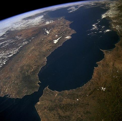 Eneo la Gibraltar kati ya Afrika na Ulaya