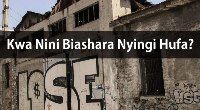Sababu 13 za Kwa Nini Biashara Nyingi Hufa